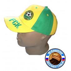 Бейсболка1 ФК КУБАНЬ желто-зеленая