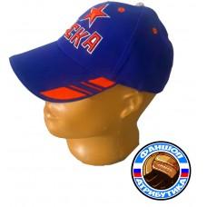 Бейсболка ЦСКА общество синяя1
