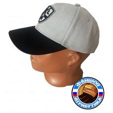 Бейсболка КХЛ серая