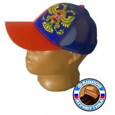 Бейсболка Россия красно-синяя Танкеев