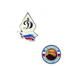 значок Динамо Москва ромб флаг старый 100